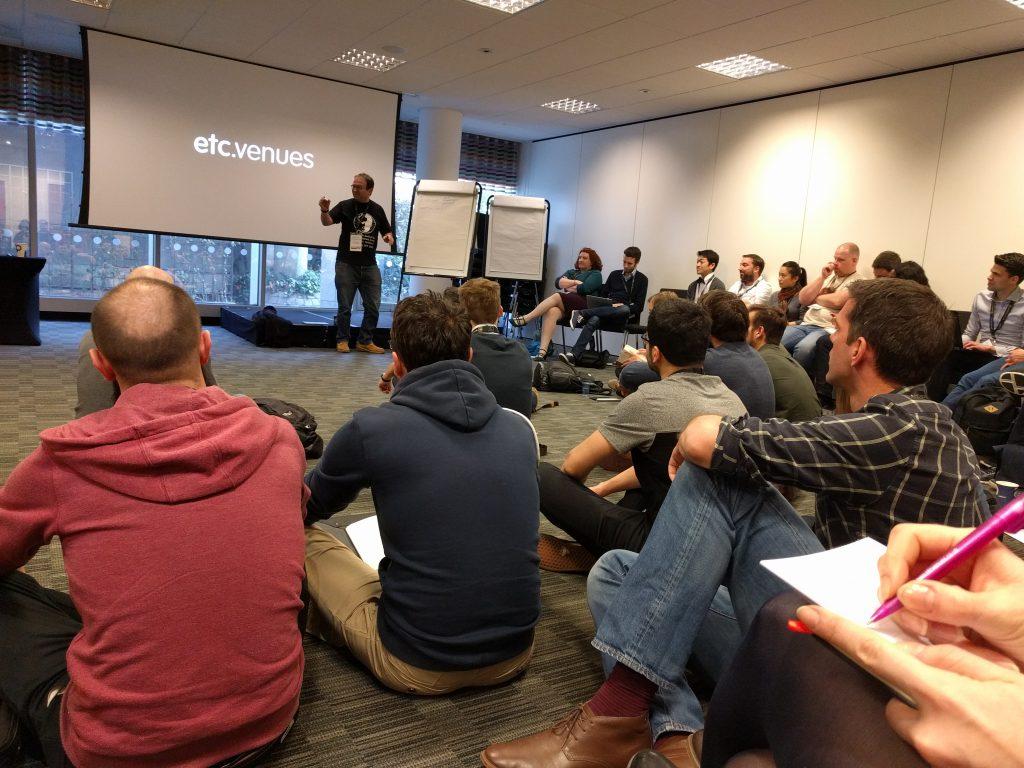 MeasureCamp #10 Überfüllte Session