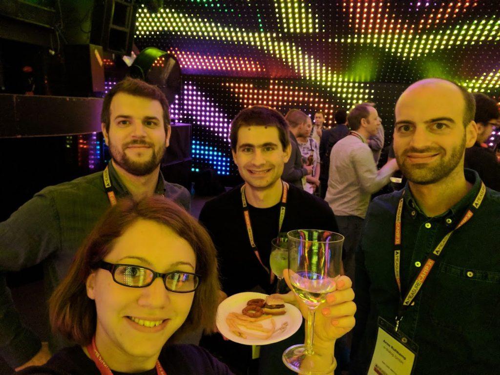 MeasureCamp Afterparty mit Matthias Hausdorf, Johannes Klampfl und Arne Ruhkamp