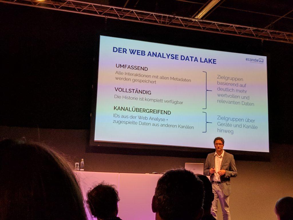 Econda Vortrag: Der Webanalyse Data Lake