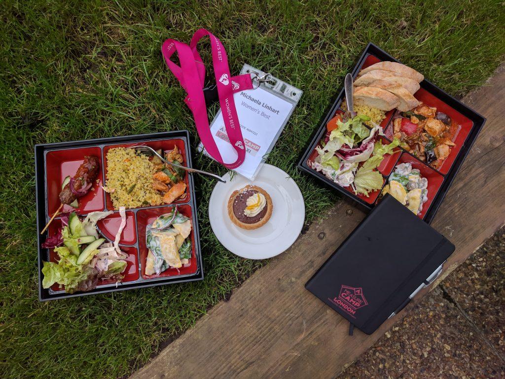 MeasureCamp Mittagessen im Garten