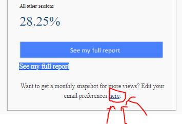 Google Analytics Snapshot Emails deaktivieren 3