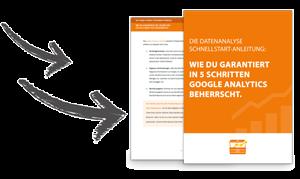 Wie du garantiert in 5 Schritten Google Analytics beherrscht.