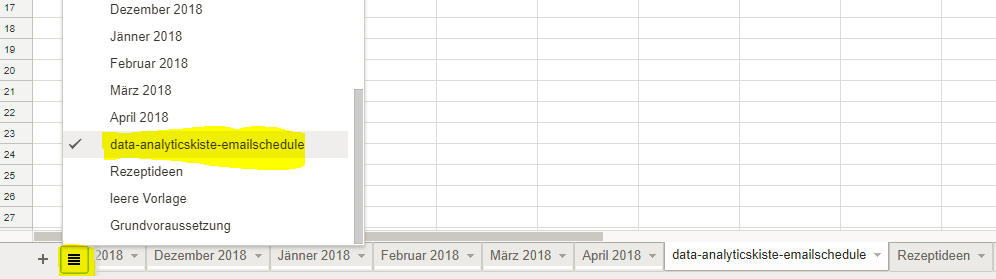 Google Spreadsheet Add-On Hidden Field